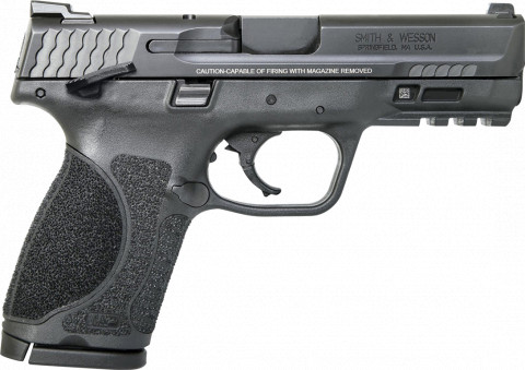"Smith & Wesson M&P 9 M2.0 4.0"" Compact facing right"