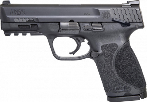 "Smith & Wesson M&P 9 M2.0 4.0"" Compact facing left"