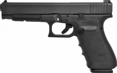 Glock G41 Gen4 facing left