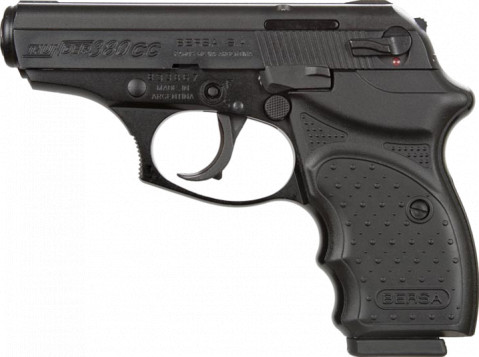 Bersa 380 CC facing left