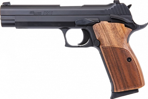 Sig Sauer P210 facing left