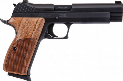 Sig Sauer P210 facing right