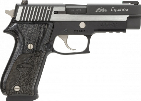 Sig Sauer P220 Full Size facing right