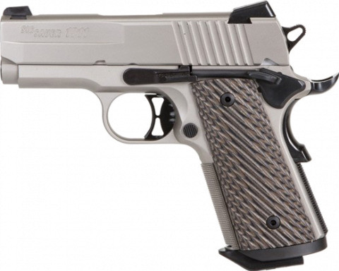 Sig Sauer 1911 Ultra Compact facing left