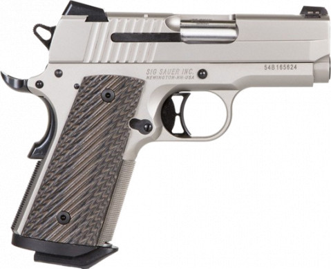 Sig Sauer 1911 Ultra Compact facing right