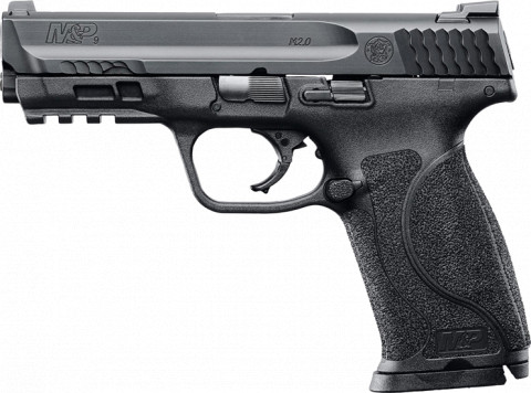 Smith & Wesson M&P 9 M2.0 facing left