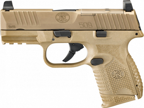 FN 509 MDR Compact facing left