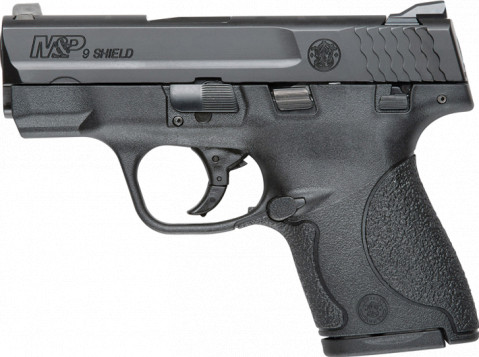 Smith & Wesson M&P 9 Shield facing left