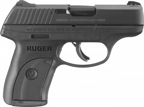 Ruger LC9s facing right