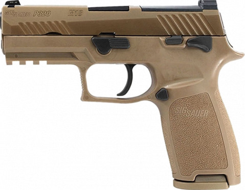 Sig Sauer P320 M18 facing left