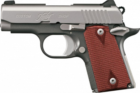 Kimber Micro 9 facing left