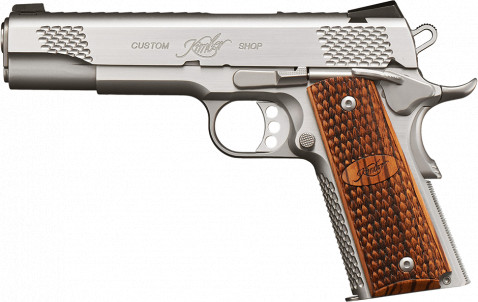 Kimber 1911 facing left