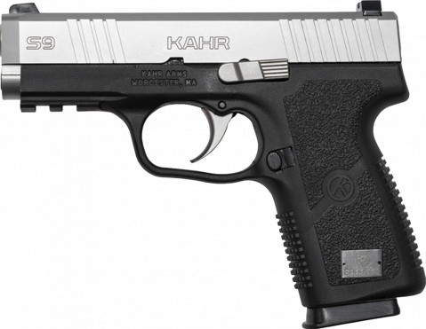 Kahr S9 facing left