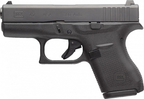 Glock G42 facing left