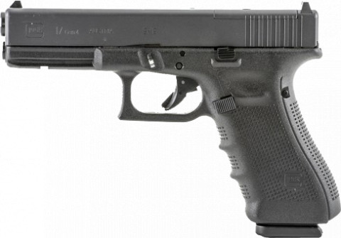 Glock G17 Gen4 facing left