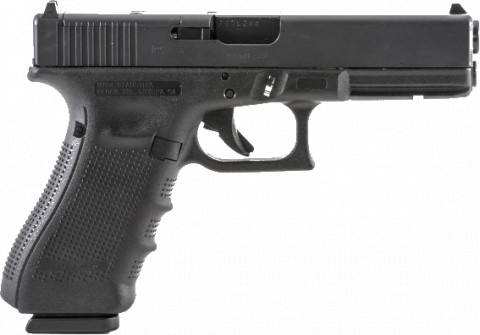 Glock G17 Gen4 facing right
