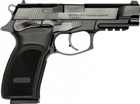 Bersa Thunder Pro HC facing right