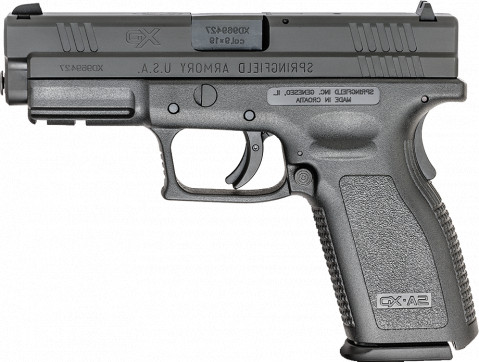 "Springfield XD Full Size 4"" facing left"