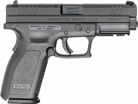 "Springfield XD Full Size 4"" facing right"