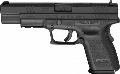 "Springfield XD Compact 5"" facing left"