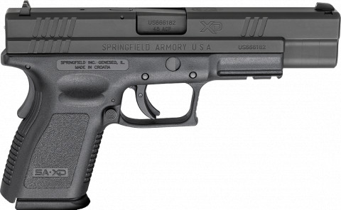 "Springfield XD Compact 5"" facing right"