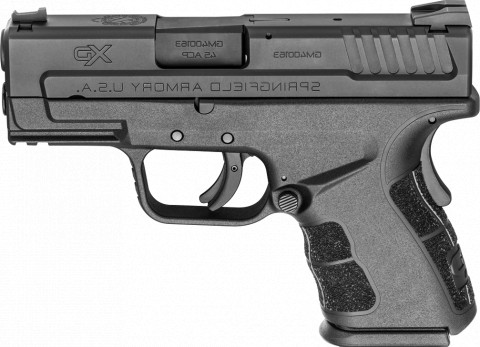"Springfield XD MOD.2 Sub-compact 3.3"" facing left"