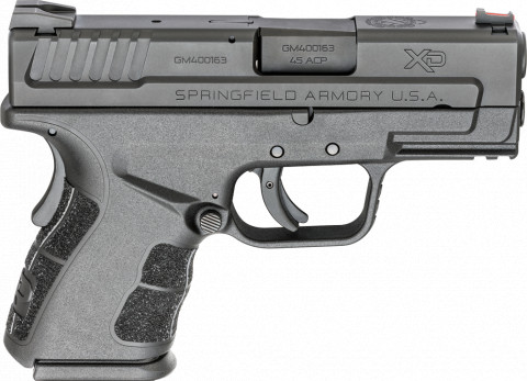 "Springfield XD MOD.2 Sub-compact 3.3"" facing right"