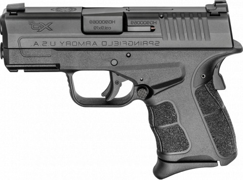 Springfield XD-S MOD.2 9mm facing left