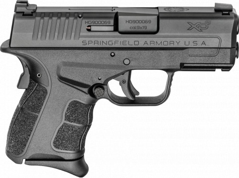 Springfield XD-S MOD.2 9mm facing right