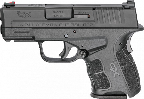 Springfield XD-S MOD.2 45ACP facing left
