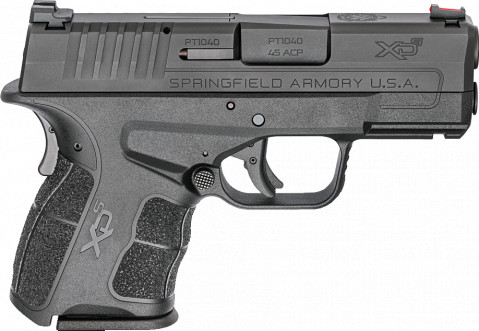 Springfield XD-S MOD.2 45ACP facing right