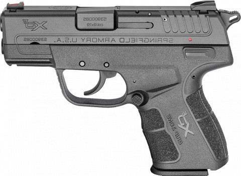 "Springfield XD-E 3.3"" facing left"