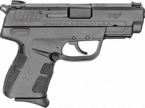 "Springfield XD-E 3.8"" facing right"