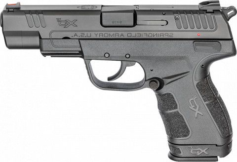 "Springfield XD-E 4.5"" facing left"