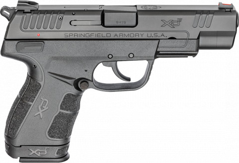 "Springfield XD-E 4.5"" facing right"