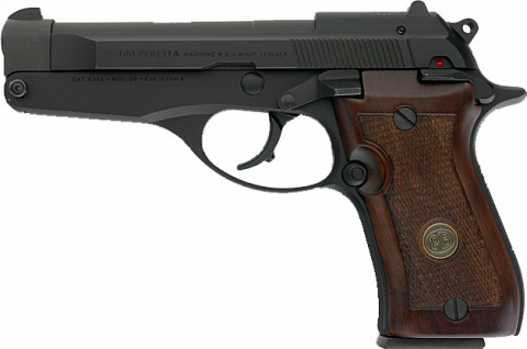 Beretta 86 facing left