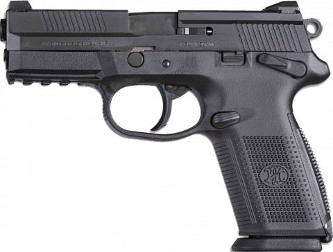 FN FNX-9 facing left