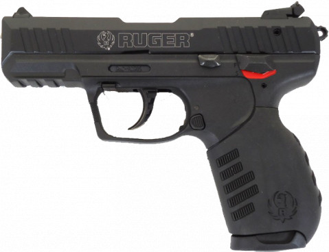Ruger SR22 facing left