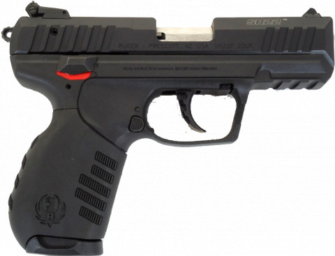 Ruger SR22 facing right