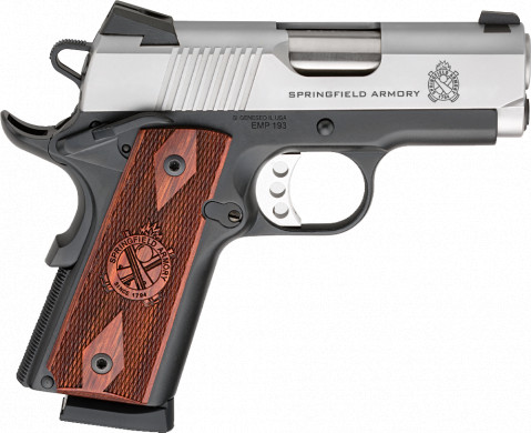 Springfield 1911 EMP facing right