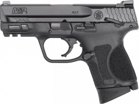 "Smith & Wesson M&P 9 M2.0 3.6"" Subcompact facing left"