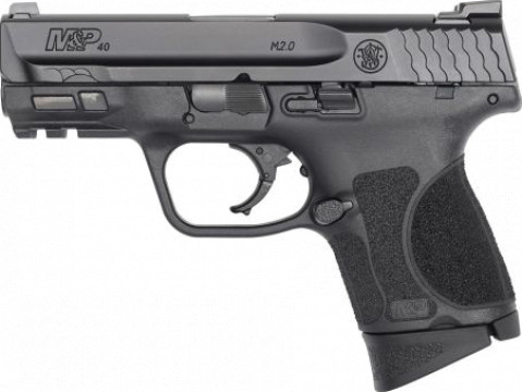 "Smith & Wesson M&P 40 M2.0 3.6"" Subcompact facing left"