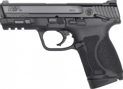 "Smith & Wesson M&P 45 M2.0 4"" Subcompact facing left"