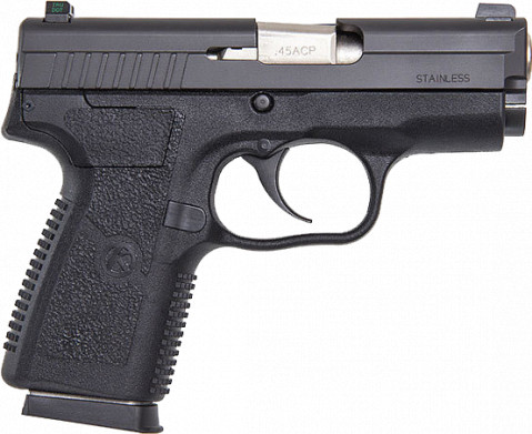 Kahr PM45 facing right
