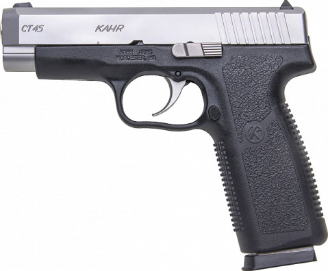 Kahr CT45 facing left