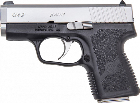 Kahr CM9 facing left