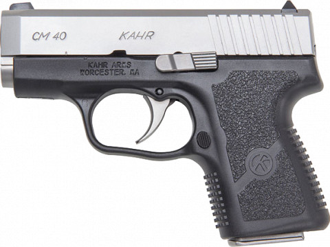Kahr CM40 facing left