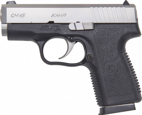 Kahr CM45 facing left