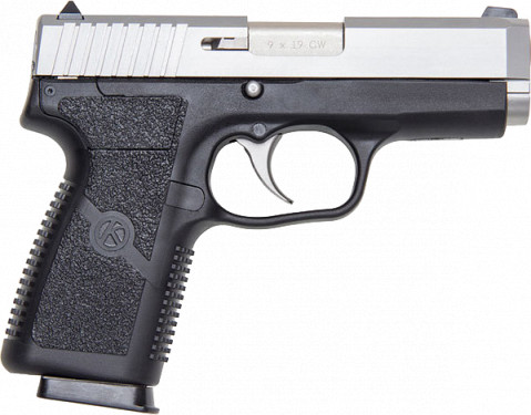 Kahr CW9 facing right