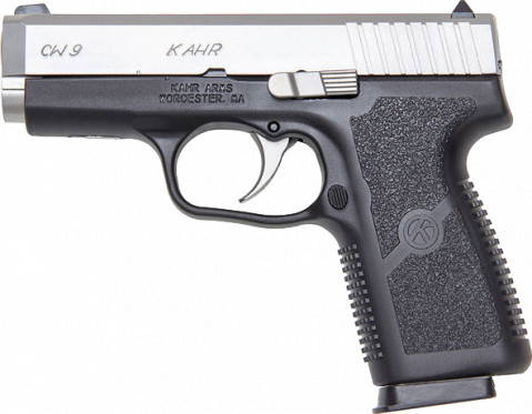 Kahr CW9 facing left